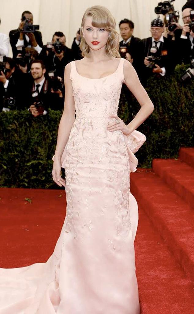 Taylor Swift, 2014 MET Gala, Red Carpet Fashions, Widget