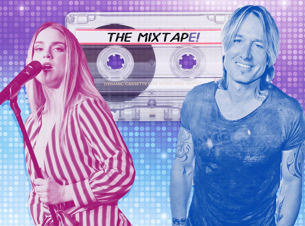The MixtapE!, Jojo, Keith Urban