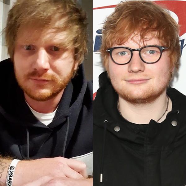 This Ed Sheeran Look-Alike Will Make You Do a Double Take
