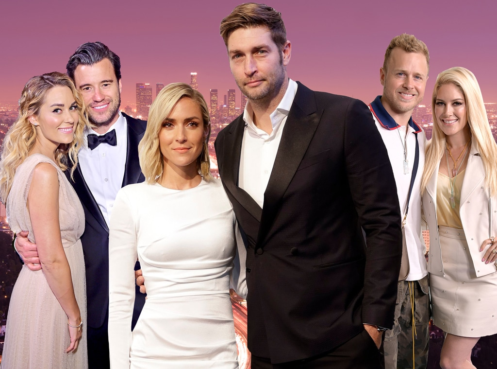 The Hills Couples, Kristin Cavallari, Jay Cutler, Lauren Conrad, William Tell, Heidi Montag, Spencer Pratt