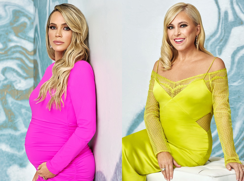 Teddi Mellencamp Arroyave, Sutton Stracke, THE REAL HOUSEWIVES OF BEVERLY HILLS