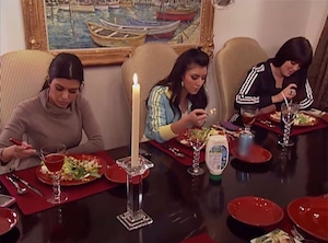 Keeping Up With the Kardashians, Salad Marathon