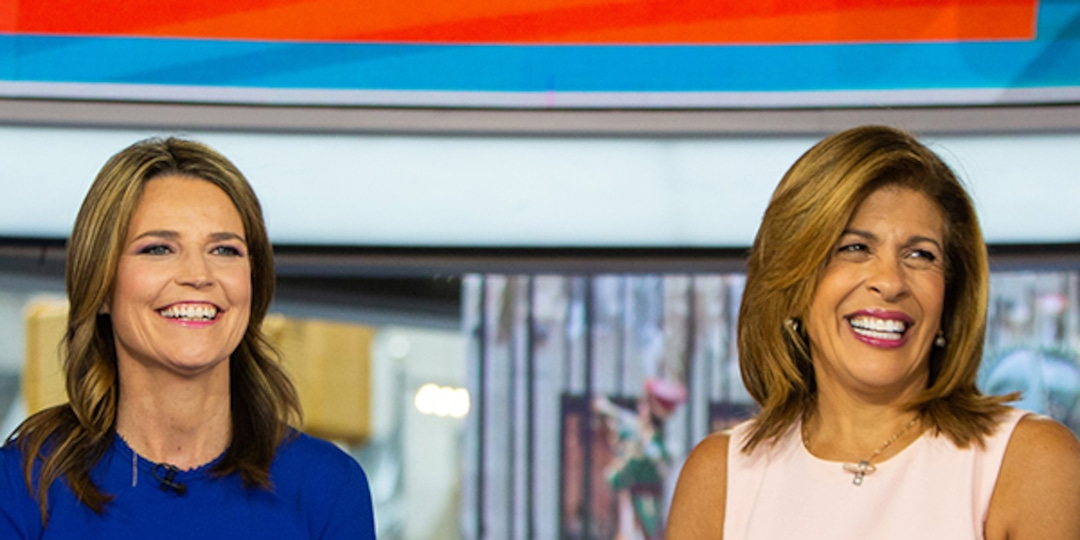 Watch Today Show's Savannah Guthrie and Hoda Kotb's Touching Moment as They Un-Socially Distance - E! Online.jpg