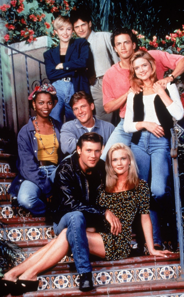 Melrose Place, Cast 1993