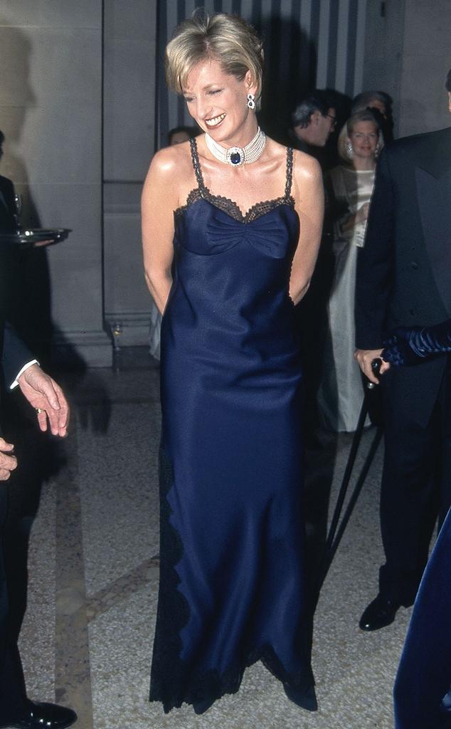 La princesse Diana, 1995