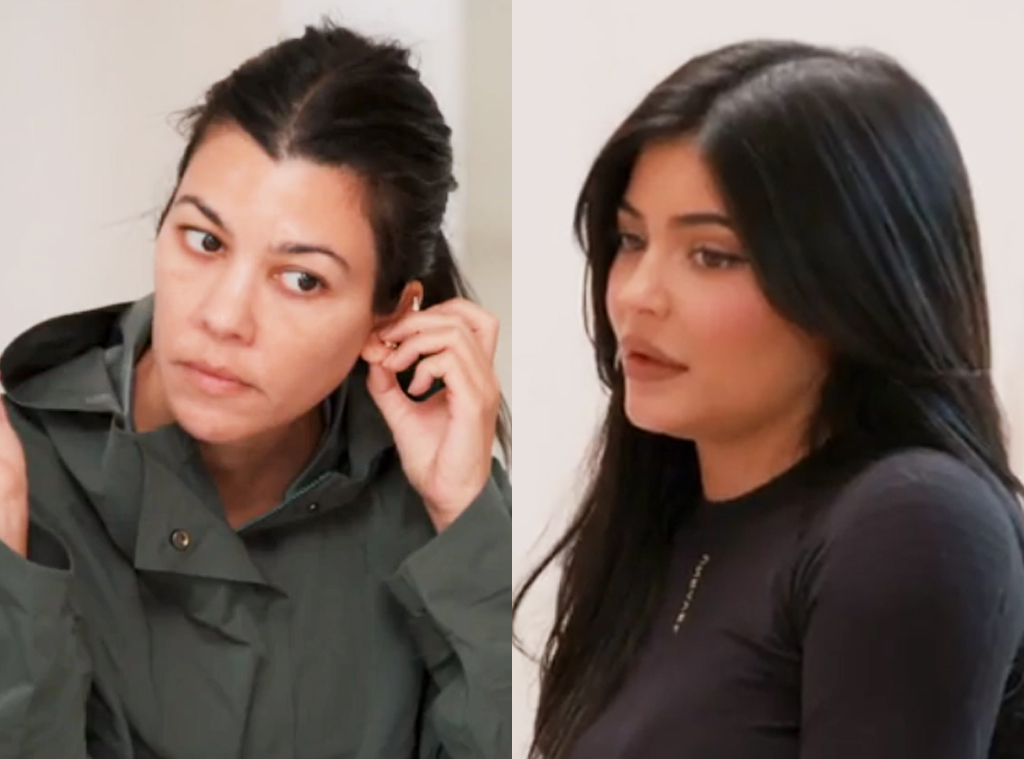 Kylie Jenner, Kourtney Kardashian, Keeping Up With The Kardashians