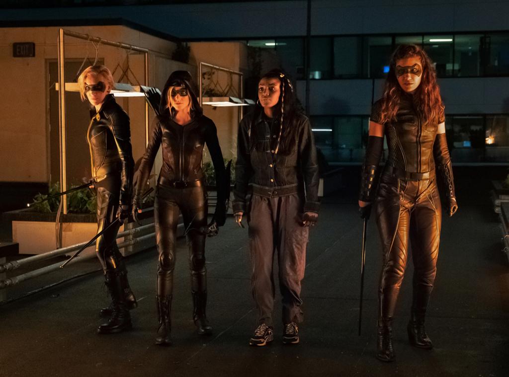 Arrow, Kat McNamara, Juliana Harkavy, Katie Cassidy