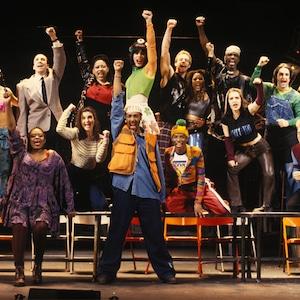 Rent original Broadway cast then/now