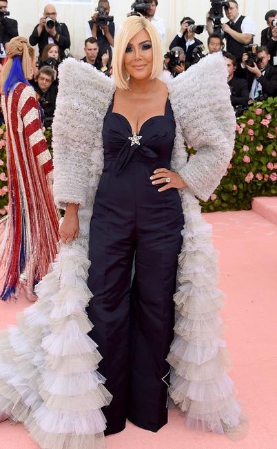 Kris Jenner, 2019 Met Gala, Red Carpet Fashions, Kardashian Met Gala Widget