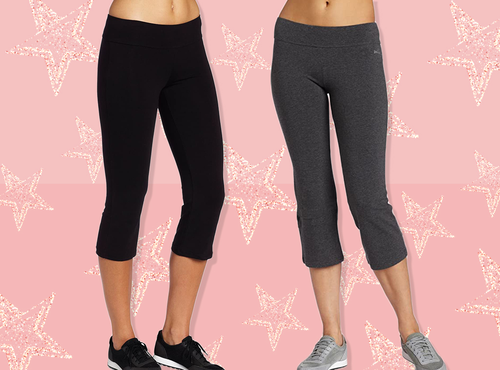 E-Comm:  These $15 Flare Yoga Capris Have 150 5-Star Amazon Reviews