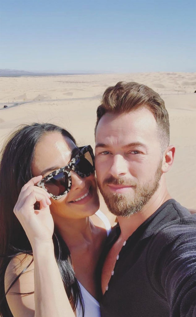 Nikki Bella, artem chigvintsev, Instagram, April 2020