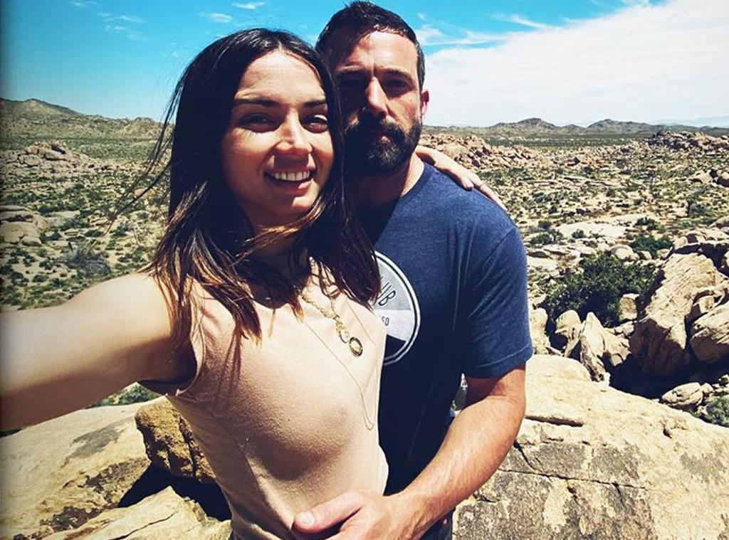 Ana de Armas, Ben Affleck, Instagram