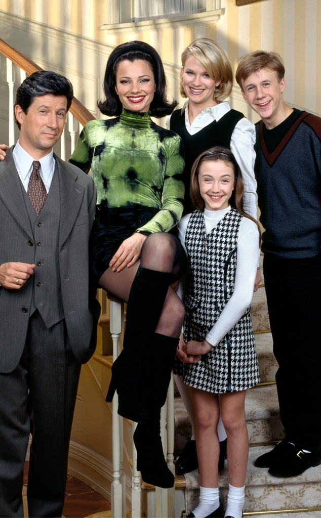 The Nanny, Fran Drescher, Charles Shaughnessy, Nicholle Tom, Madeline Zima