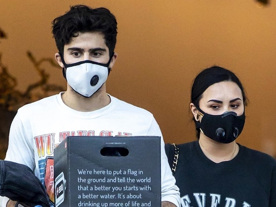 Demi Lovato and Max Ehrich Step Out for Groceries After She Crashes His Instagram Live