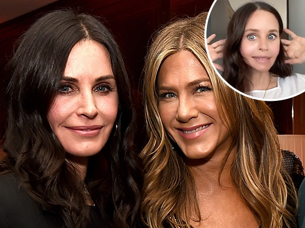 Courteney Cox's New Dance Videos Have Jennifer Aniston Laughing Out Loud