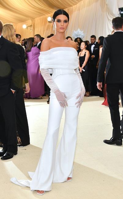 Kendall Jenner, 2018 Met Gala, Red Carpet Fashions, Kardashian Met Gala Widget