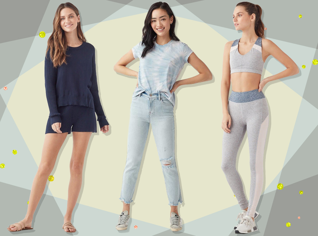 E-Comm: Splendid Work From Home Loungewear Essentials Collage