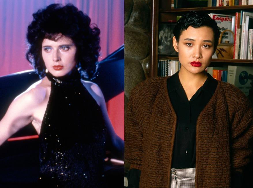 Isabella Rossellini, Blue Velvet, Joan Chen, Twin Peaks