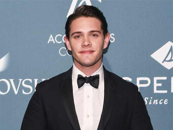<i>Riverdale</i>'s Casey Cott Just Shaved His Head for Charity