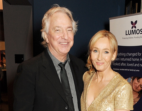 Harry Potter Fans Will Be Moved By J.K. Rowling's Heartfelt Tribute to Alan Rickman