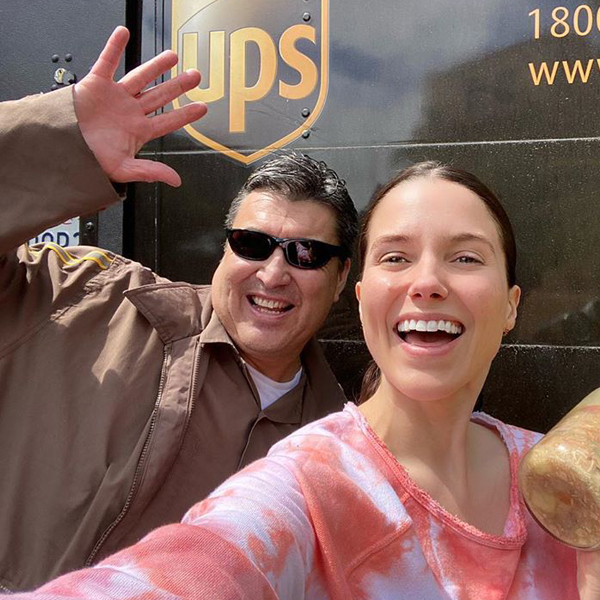 Let Sophia Bush & Her Local Mailman Inspire Your Next Act of Kindness