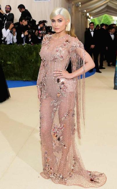Kylie Jenner, 2017 Met Gala Arrivals, Red Carpet Fashions, Kardashian Met Gala Widget