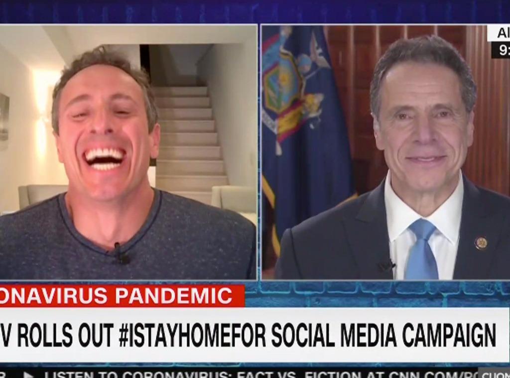 Cuomo brothers, CNN