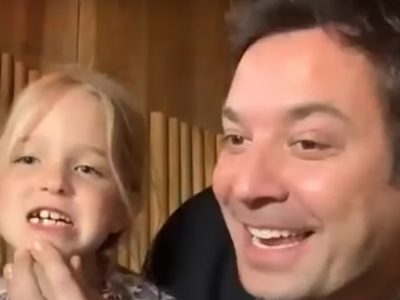 Here's Proof Jimmy Fallon's Daughters Are the True Stars of <i>The Tonight Show</i>
