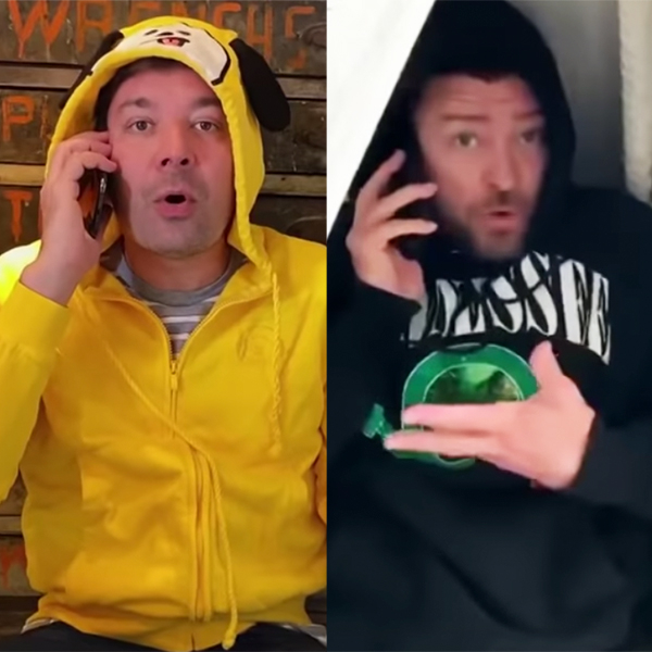 Justin Timberlake & Jimmy Fallon's Quarantine Remix Is So Relatable