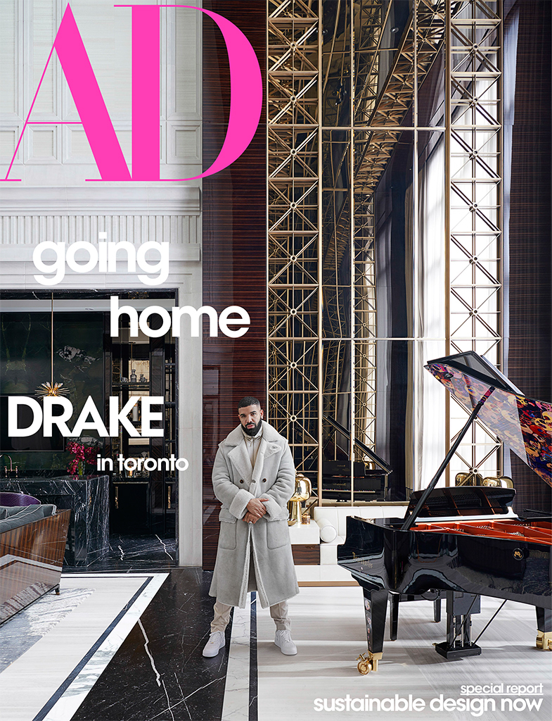 Drake, Architectural Digest, May 2020, Home, House