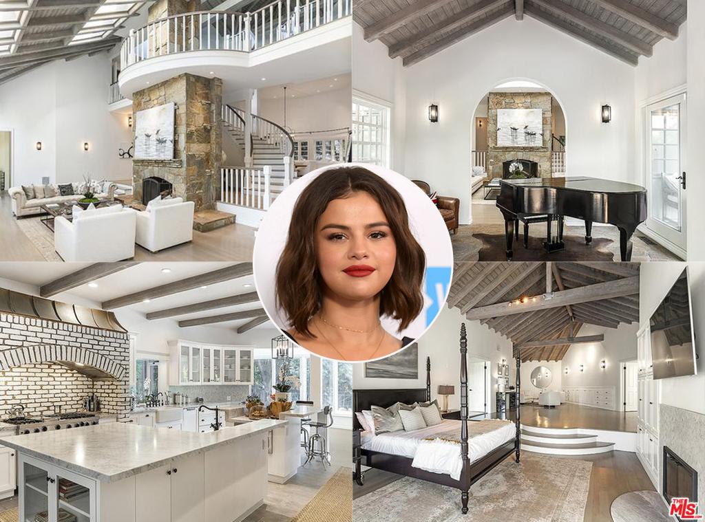 Selena Gomez, real estate, Encino mansion
