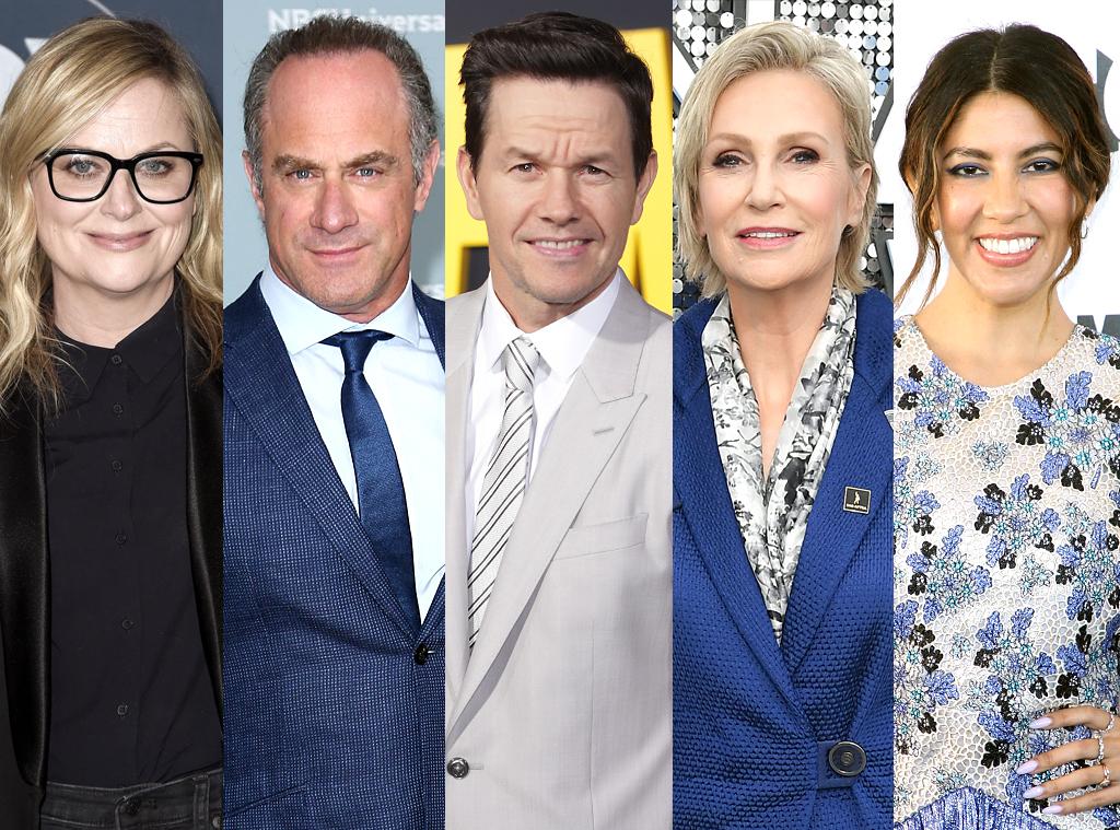 Amy Poehler, Christopher Meloni, Mark Wahlberg, Jane Lynch, Stephanie Beatriz