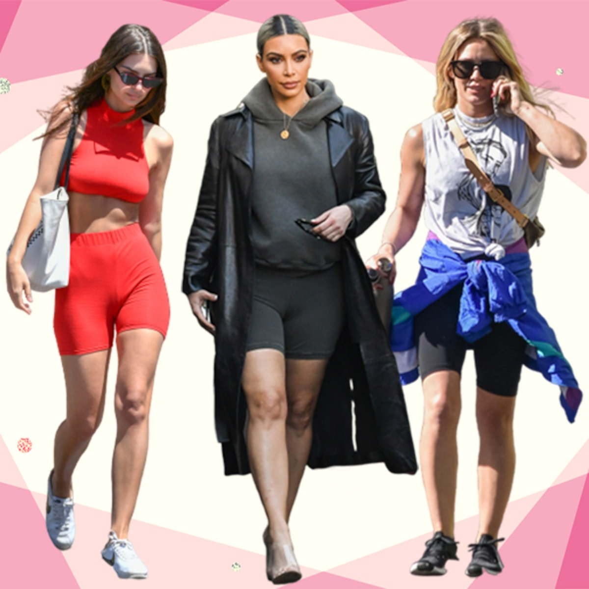 The Bike Shorts Trend Is Here To Stay E Online Ca