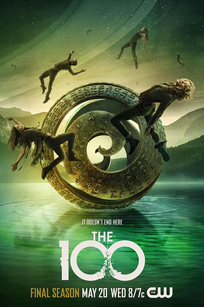 The 100, Season 7 Key Art