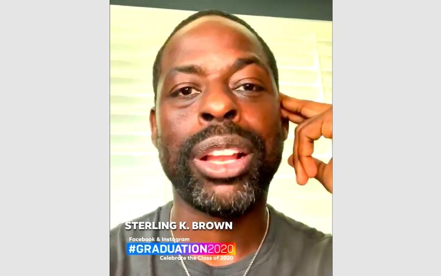Sterling K Brown, Celebs Celebrating Graduates