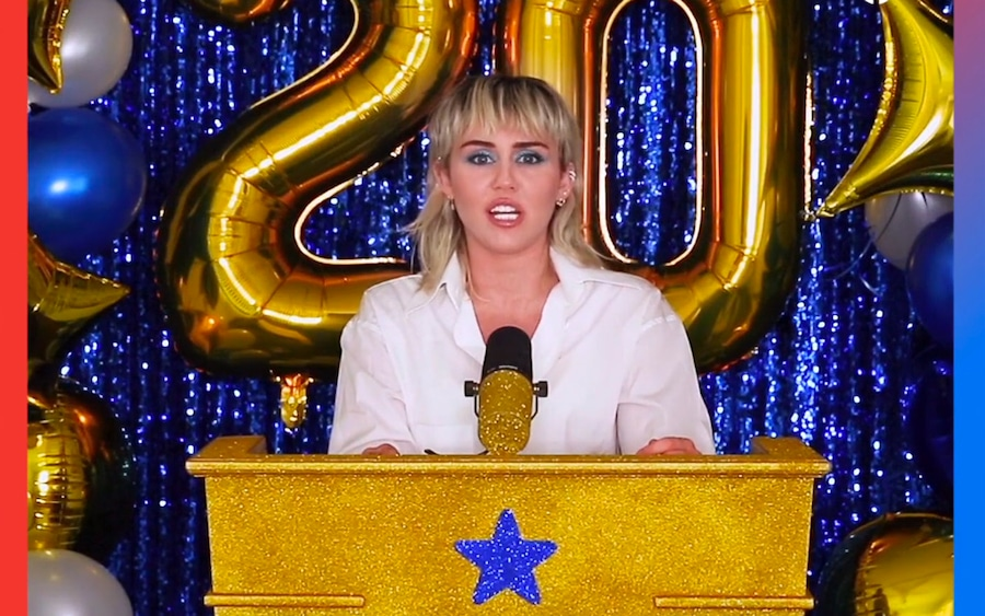 Miley Cyrus, Celebs Celebrating Graduates