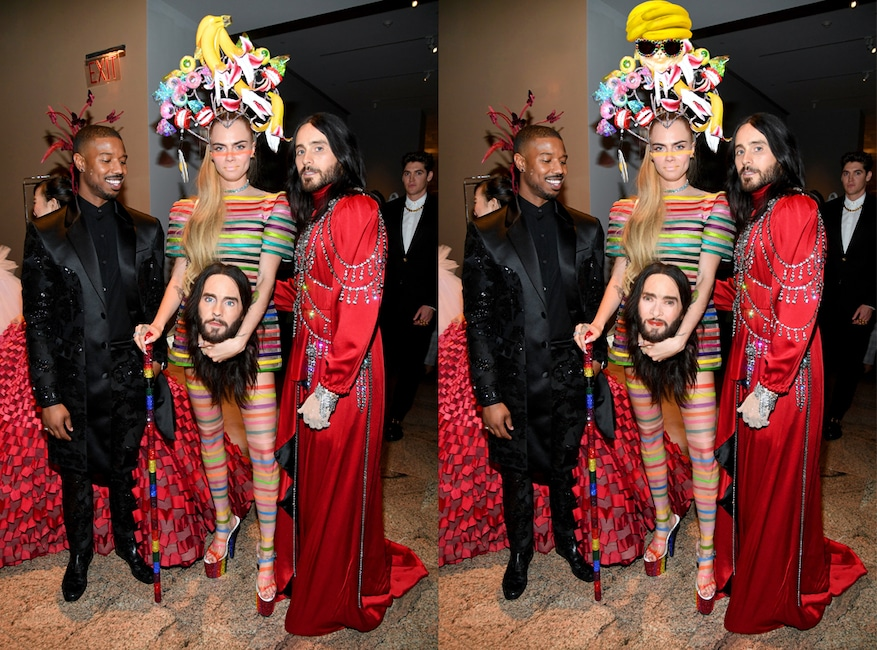 Photo Puzzle 1, Jared Leto, Cara Delevingne, Michael B. Jordan