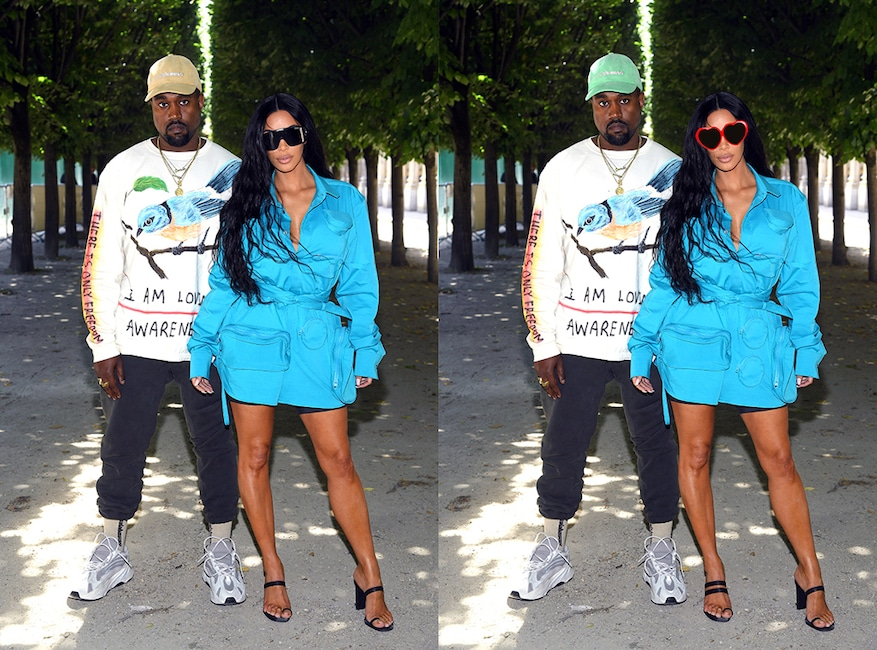 Photo Puzzle 5, Kim Kardashian, Kanye West