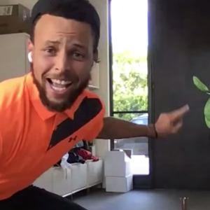 Steph Curry, Jimmy Kimmel Live, Golf Trick Shot