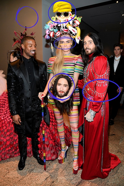 Photo Puzzle 1, Answers, Jared Leto, Cara Delevingne, Michael B. Jordan