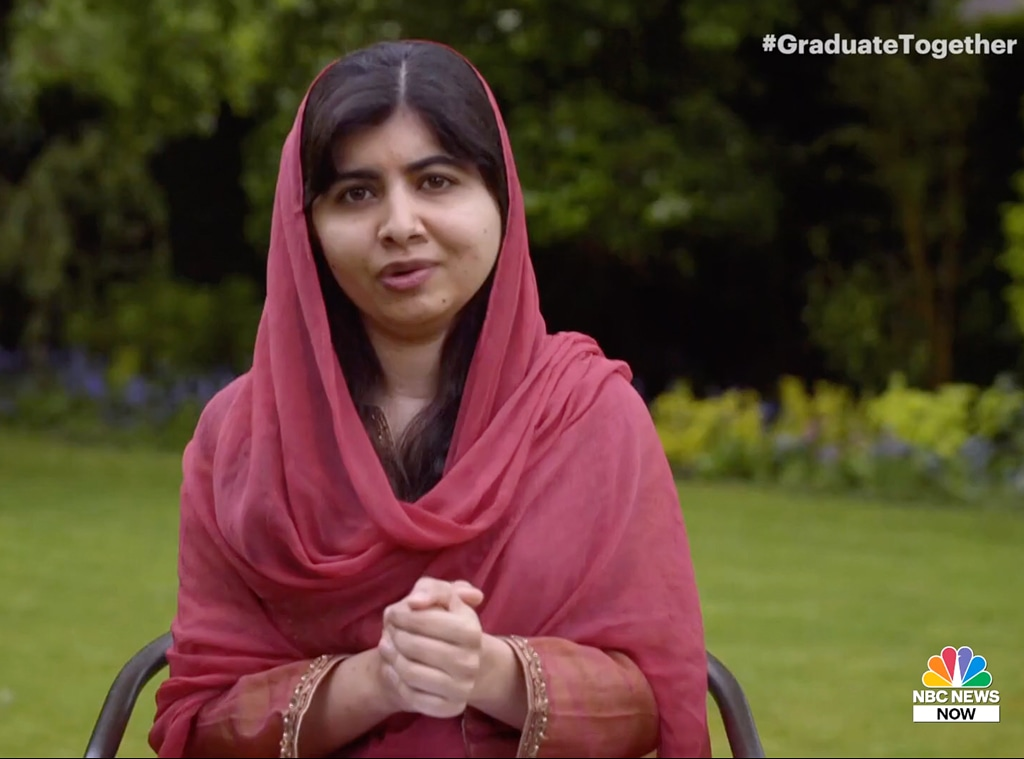 Malala Yousafzai, Graduate Together 2020, livestream