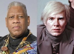Andre Leon, Andy Warhol - Andre Leon Talley book