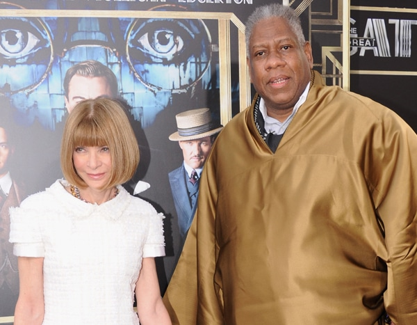 Vogue's André Leon Talley Holds Nothing Back on Life With Anna Wintour & More in Bold New Book