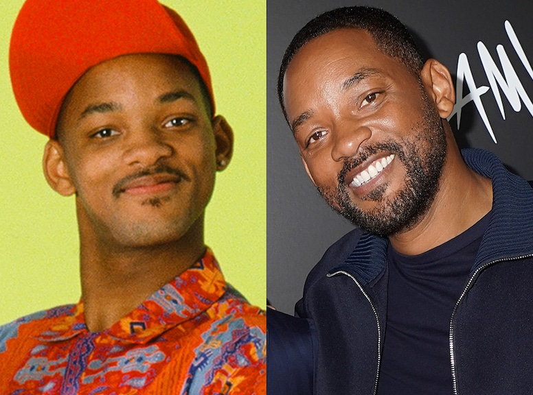 Will Smith - Fresh Prince cast then/now