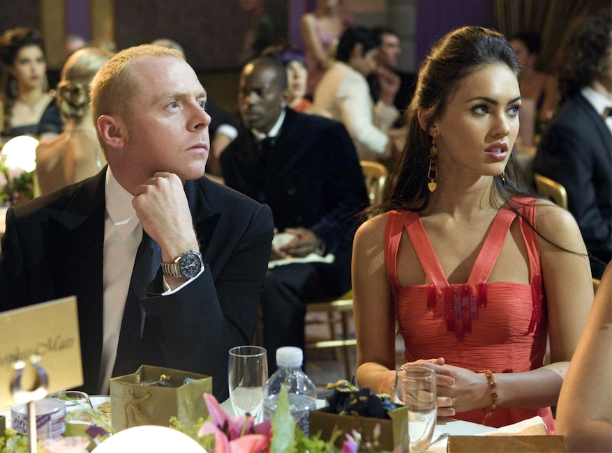 Simon Pegg, Megan Fox, How To Lose Friends and Alienate People