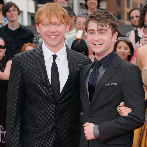See Daniel Radcliffe's Priceless Reaction to Rupert Grint's Baby News