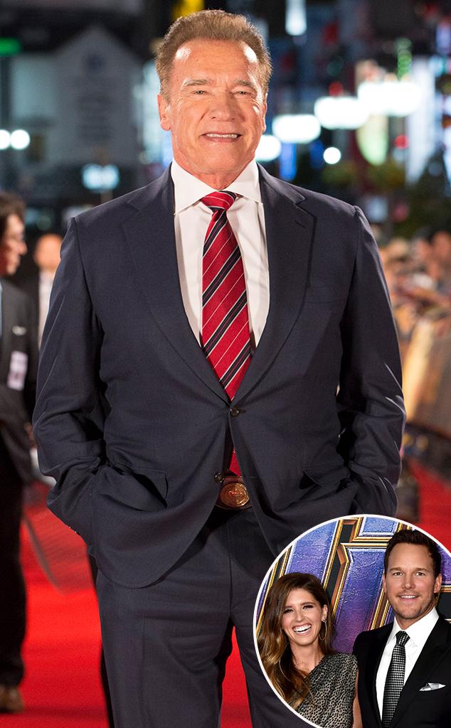 Arnold Schwarzenegger, Katherine Schwarzenegger, Chris Pratt