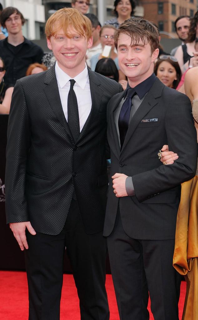 Rupert Grint, Daniel Radcliffe