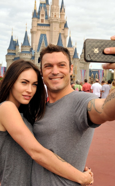 Brian Austin Green, Megan Fox, Disney World