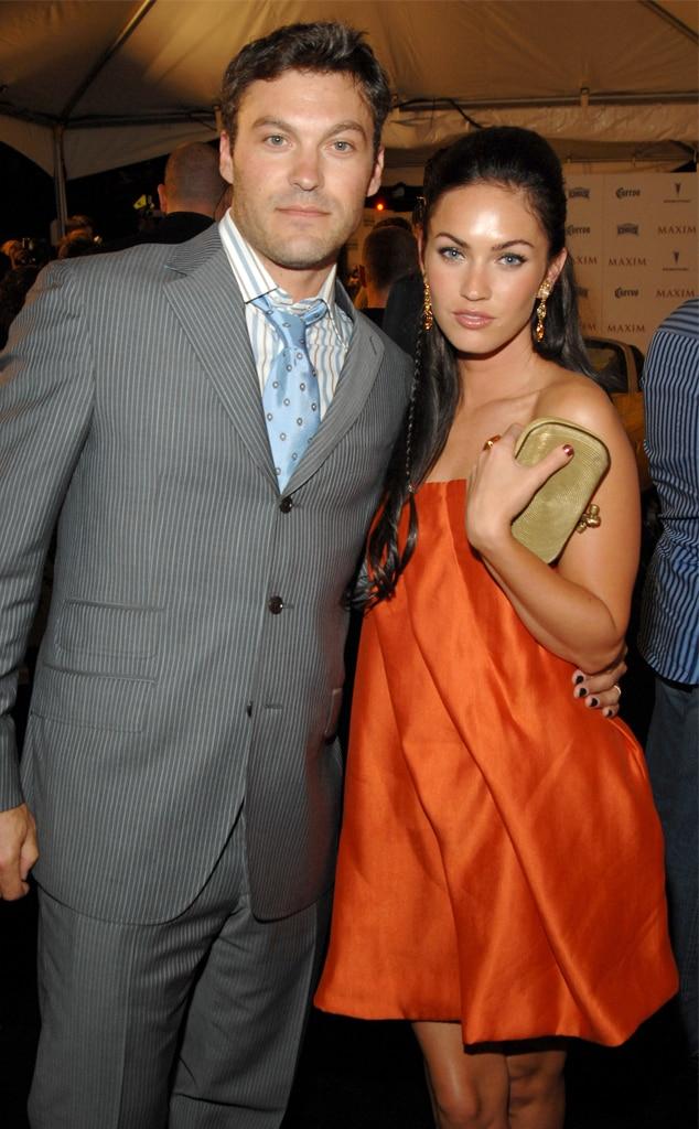 Brian Austin Green, Megan Fox, 2007